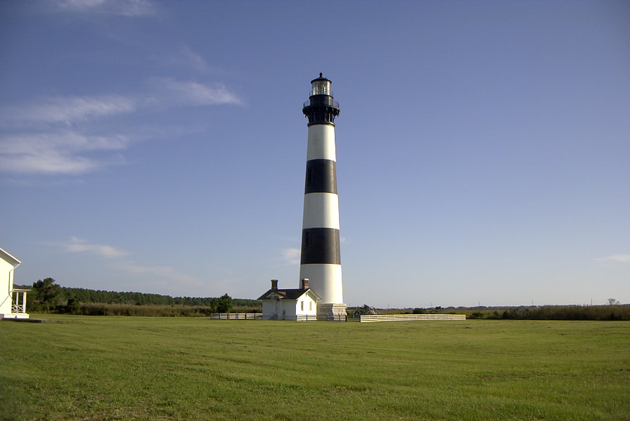 Bodie Island Lighthouse, one of the Outer Banks attractions