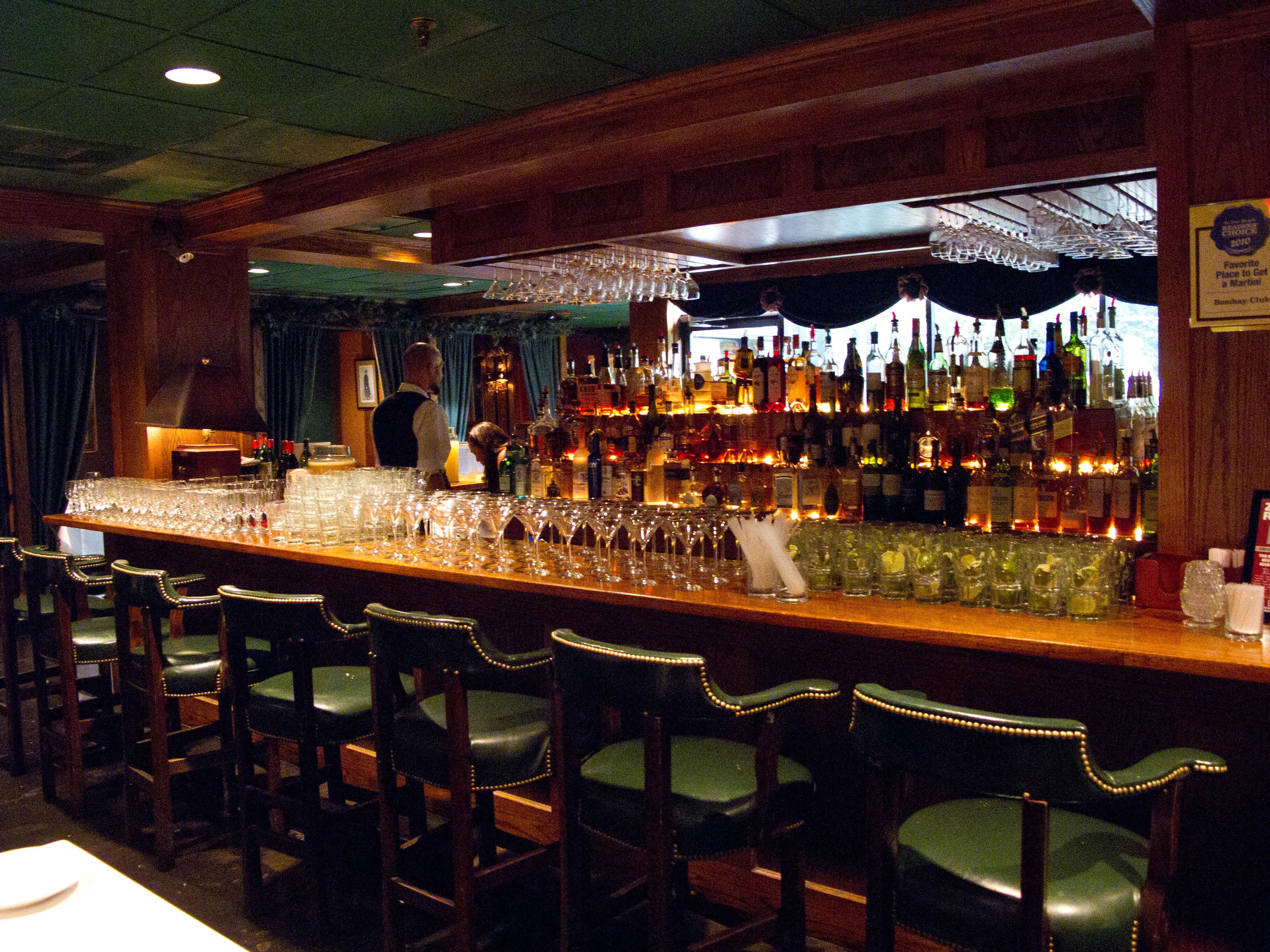 The Club Bar Dining Room