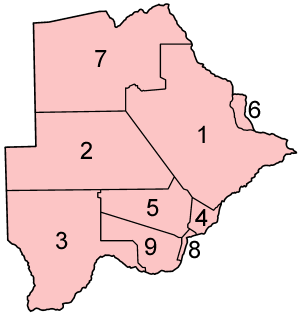 File:Botswana districts numbered.png