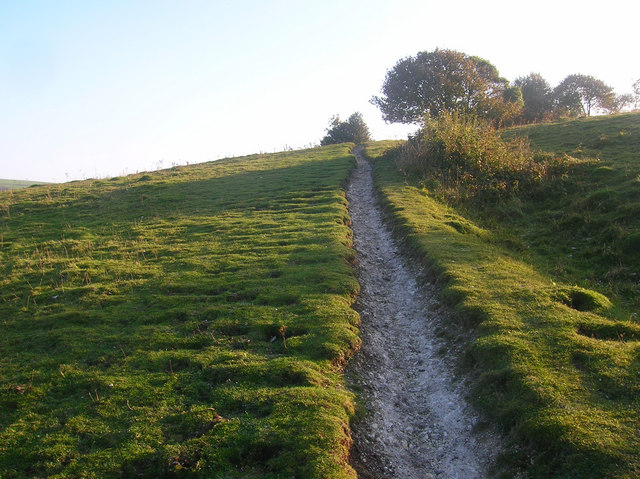 Bridleway up Chantry Hill - geograph.org.uk - 1003068