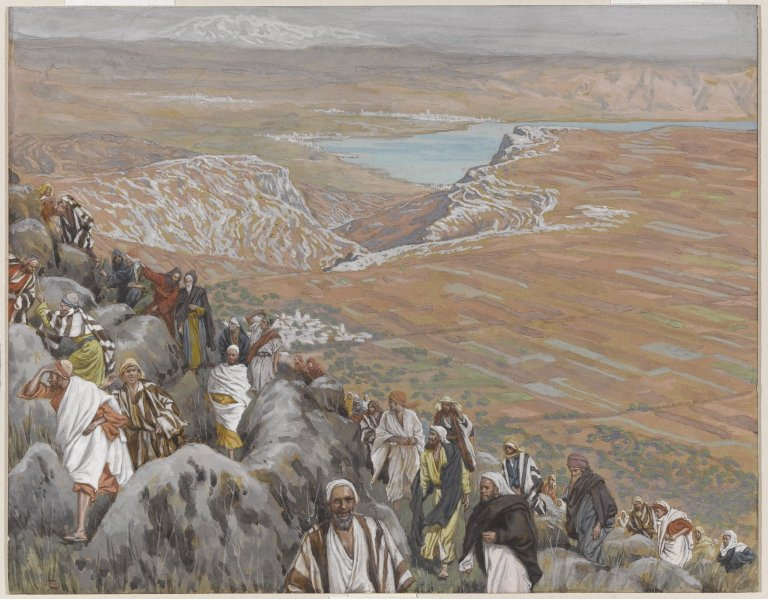 File:Brooklyn Museum - The People Seek Jesus to Make Him King (On cherche Jésus pour le faire roi) - James Tissot - overall.jpg
