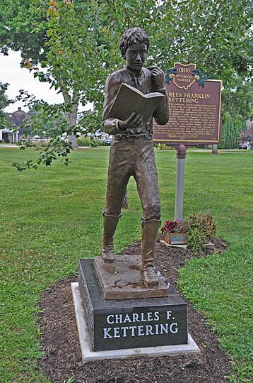 File:CHARLES F. KETTERING STATUE, LOUDONVILLE.jpg