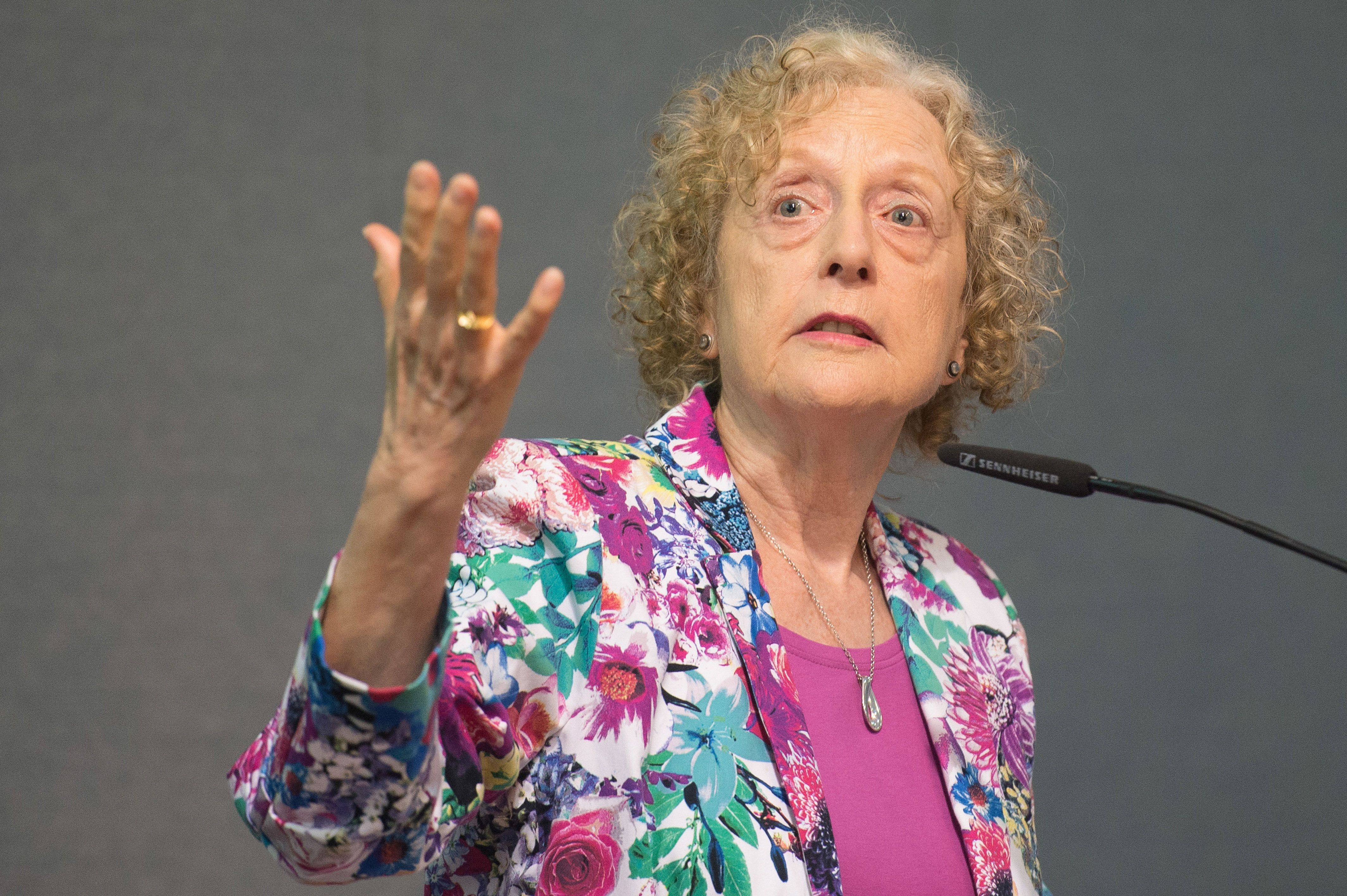 Carole Pateman in 2015