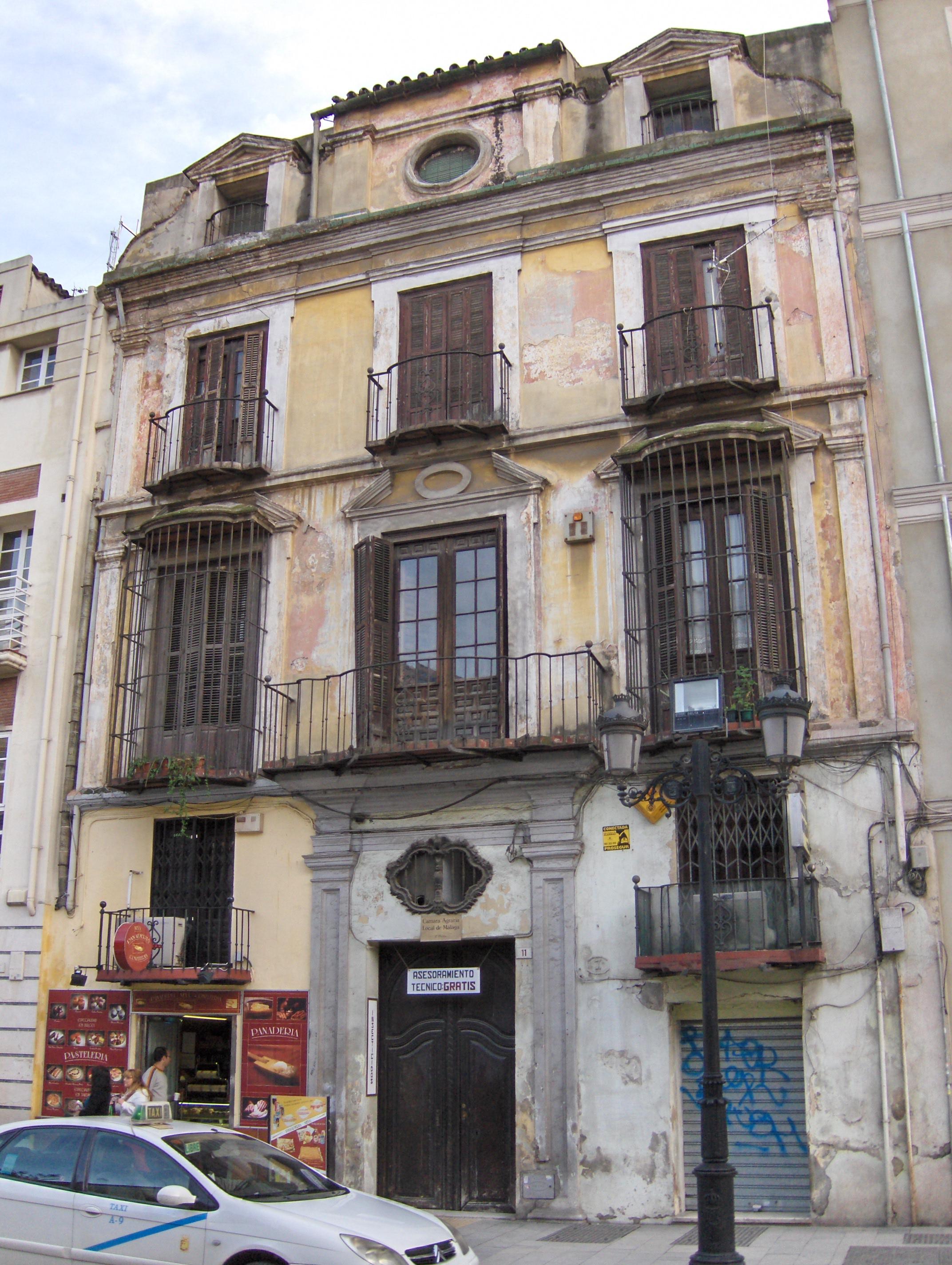 File casa barroca de las wikimedia commons - Casas en malaga capital ...