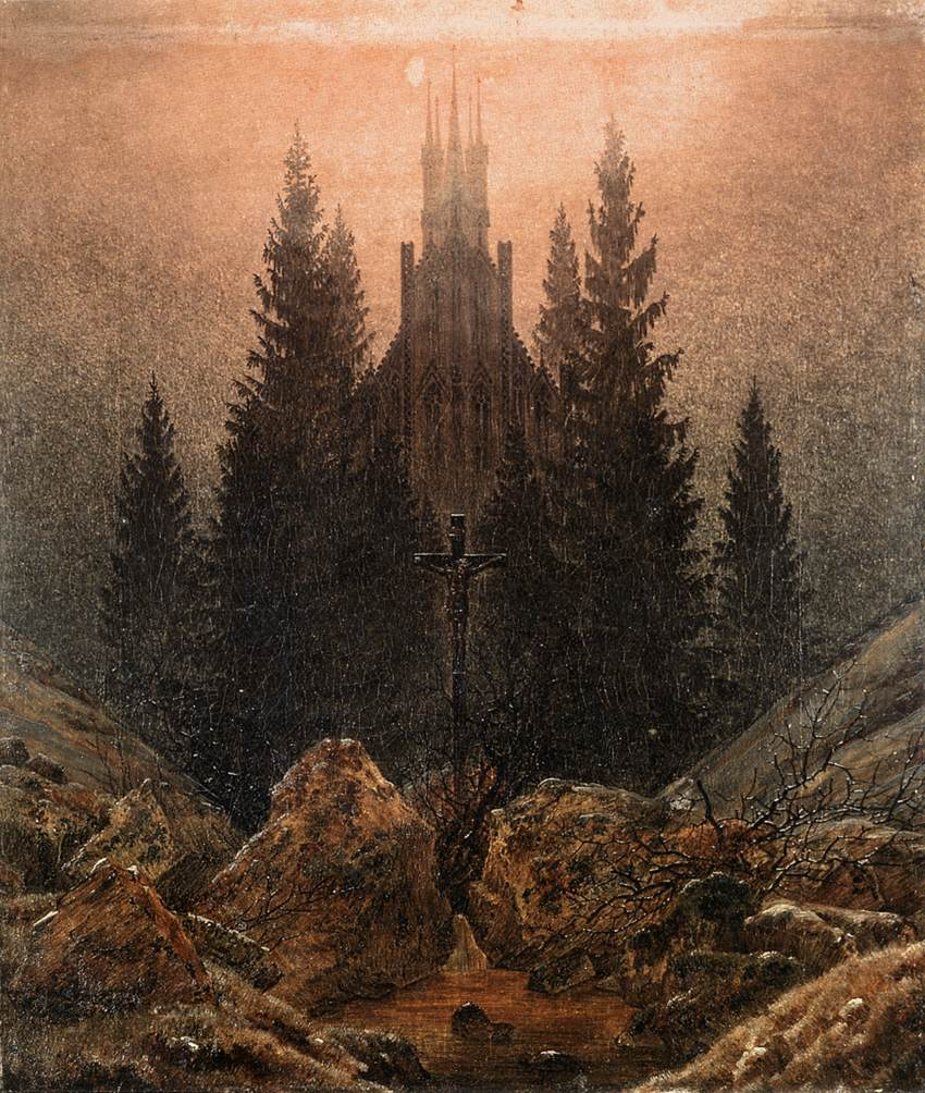 file caspar david friedrich the cross in the mountains. Black Bedroom Furniture Sets. Home Design Ideas