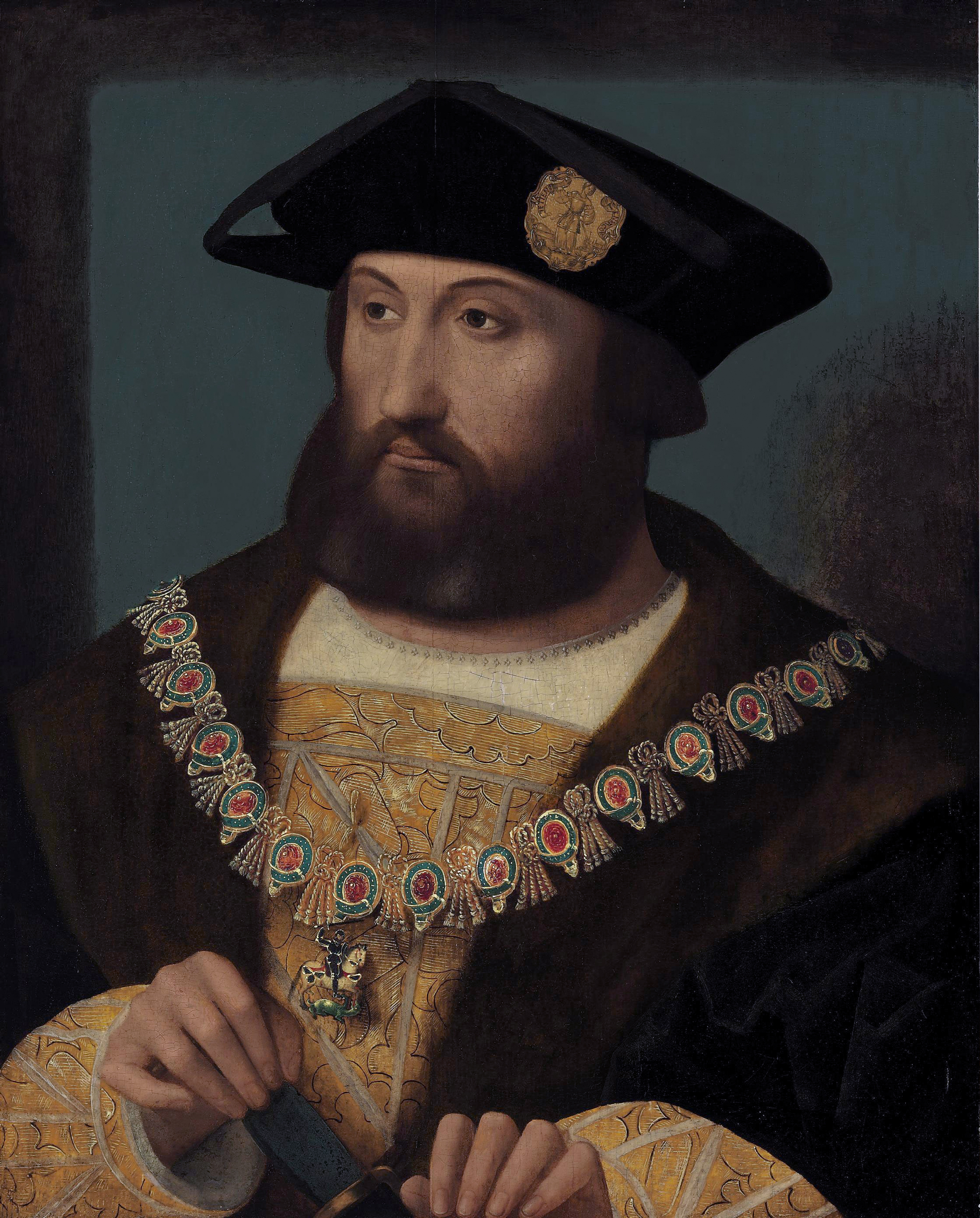 File:Charles Brandon (c 1485-1546) by Master of the Brandon Portrait