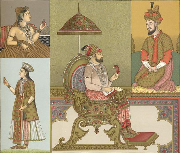 Paintings galleries akbarnama paintings of mughal costumes akbarnama paintings of mughal costumes ornaments and cultural history of india sciox Choice Image