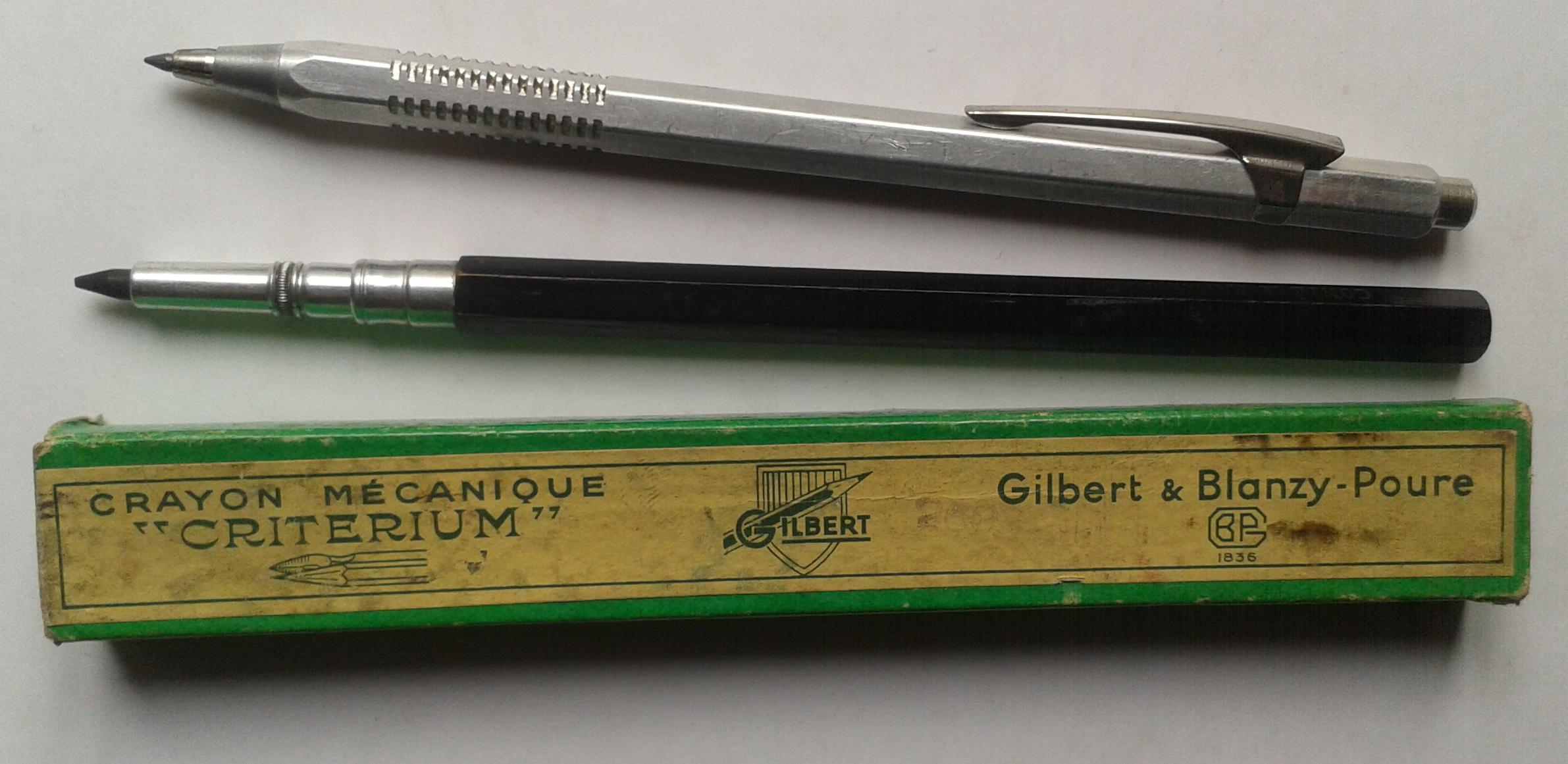 File:Criterium 2603 et crayon mécanique en bois.jpg ...