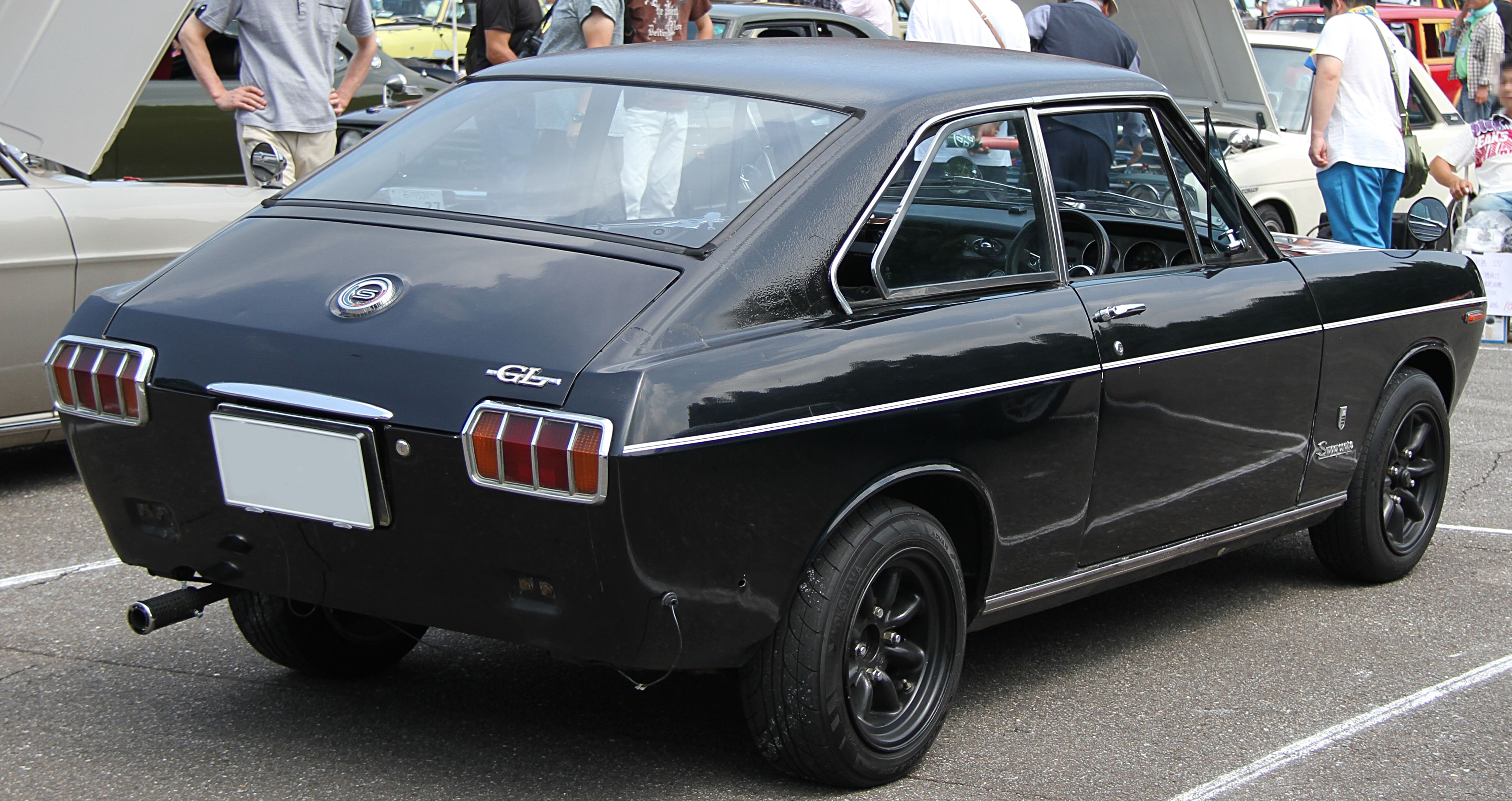 File Datsun Sunny Coupe B10 Gl Rear Jpg Wikimedia Commons