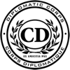 Diplomatic Corps seal - Corps Diplomatique emblem logo.png