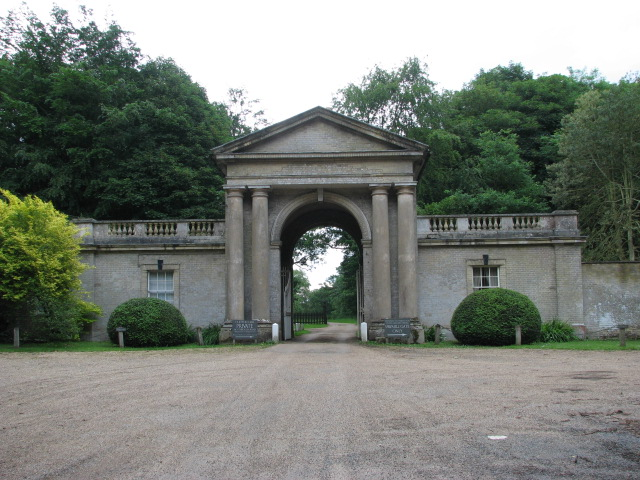 Entrance to Gunton Park - geograph.org.uk - 469308