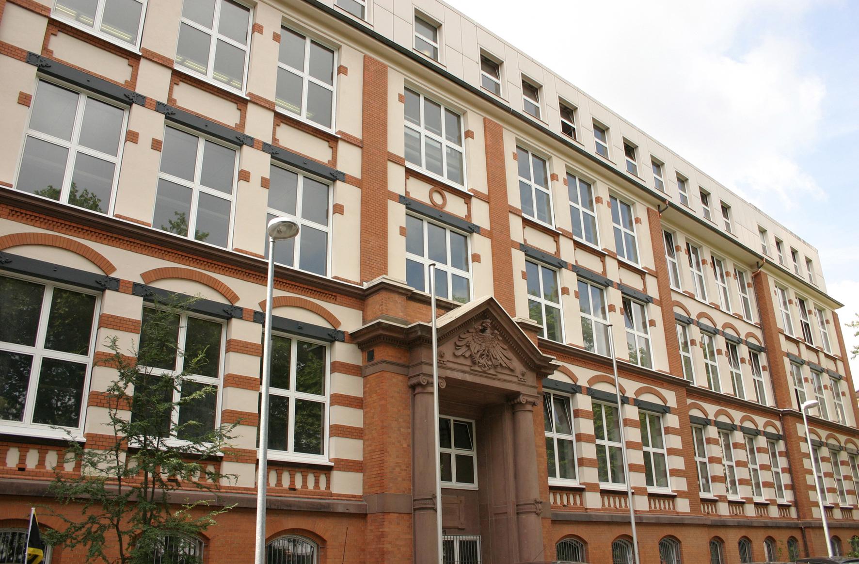 File Fachhochschule Dortmund Historische Ansicht Jpg Wikimedia Commons