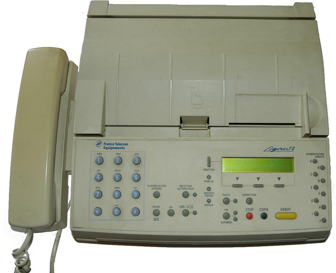 electronic fax machine