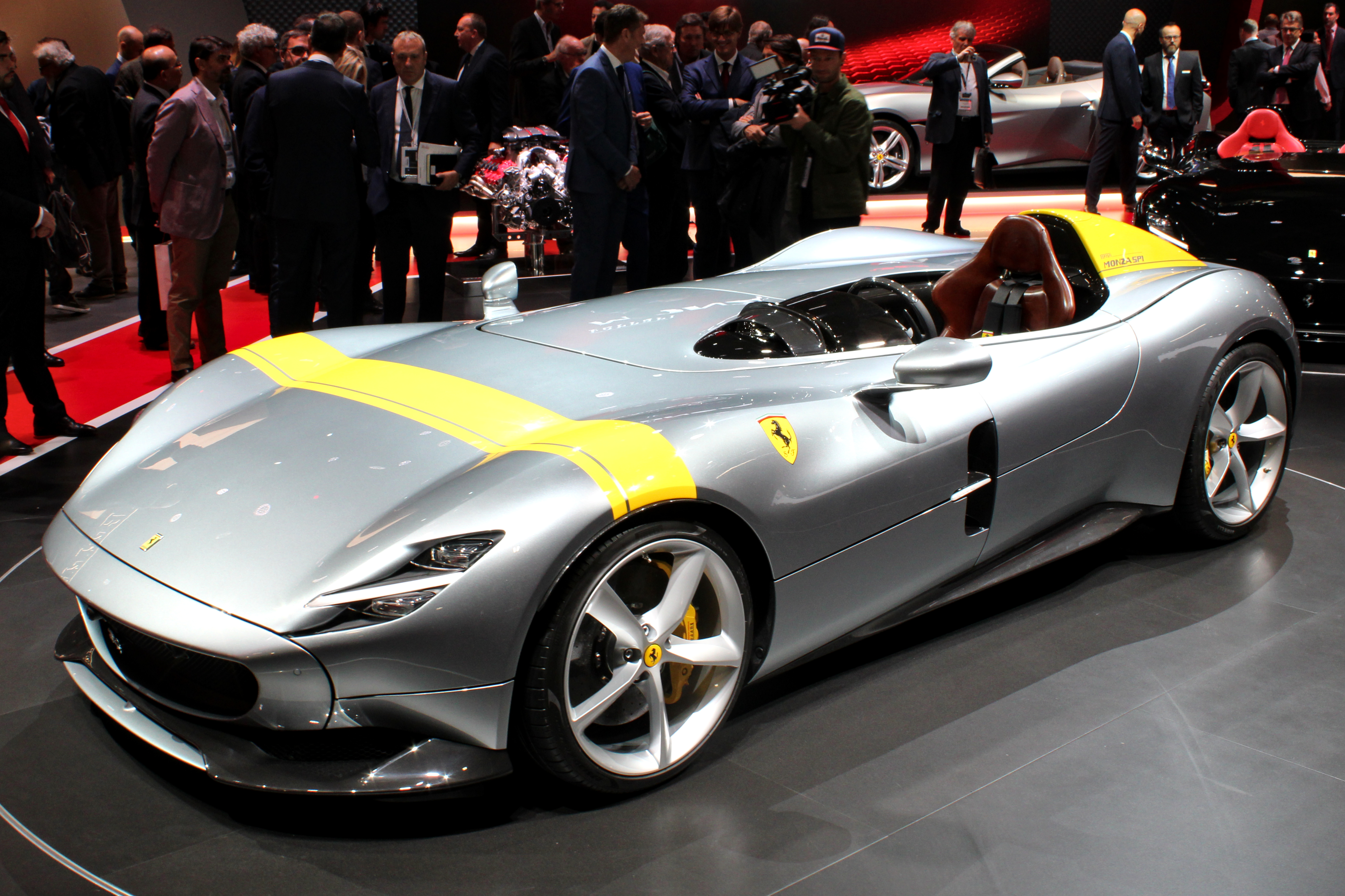 file ferrari monza sp1 paris motor show 2018 img wikimedia commons. Black Bedroom Furniture Sets. Home Design Ideas