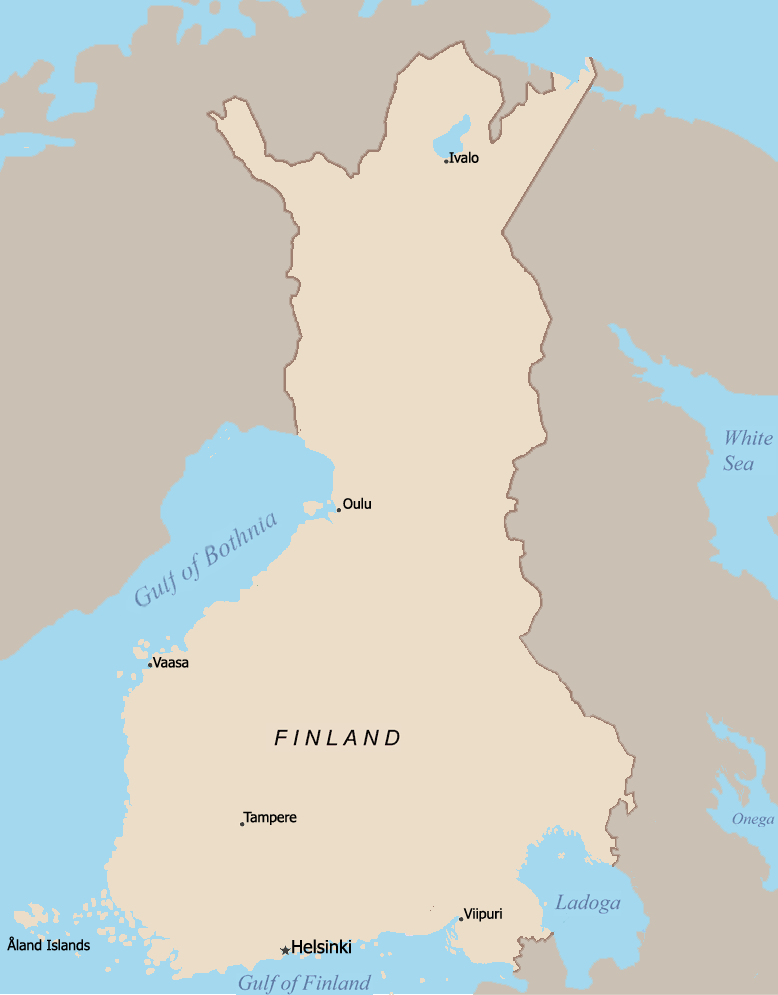 Nrk norway pm to consider offering mountain to finland europe our old map gumiabroncs Choice Image