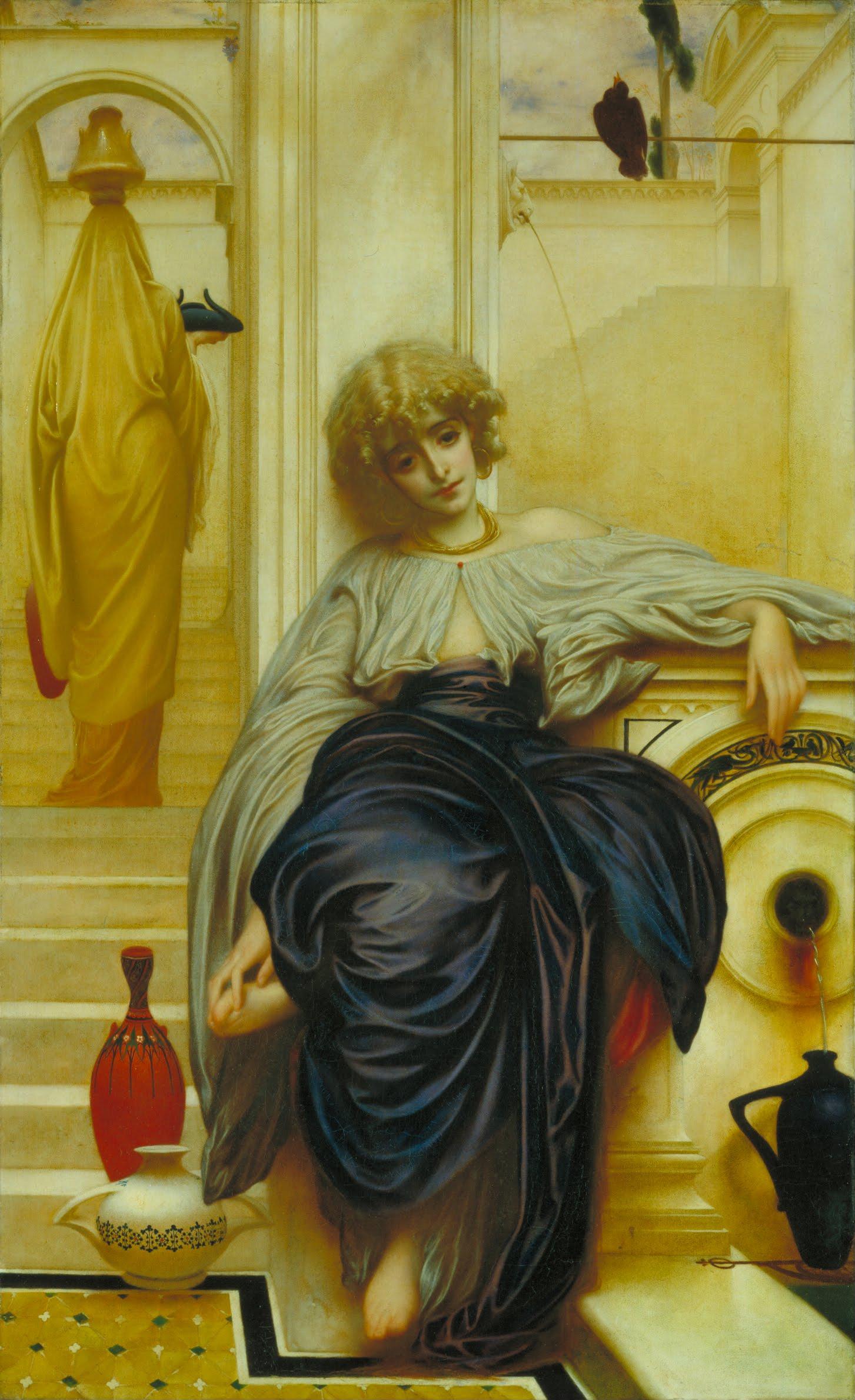 Gemälde von Frederic Leighton: Lieder ohne Worte (1859)