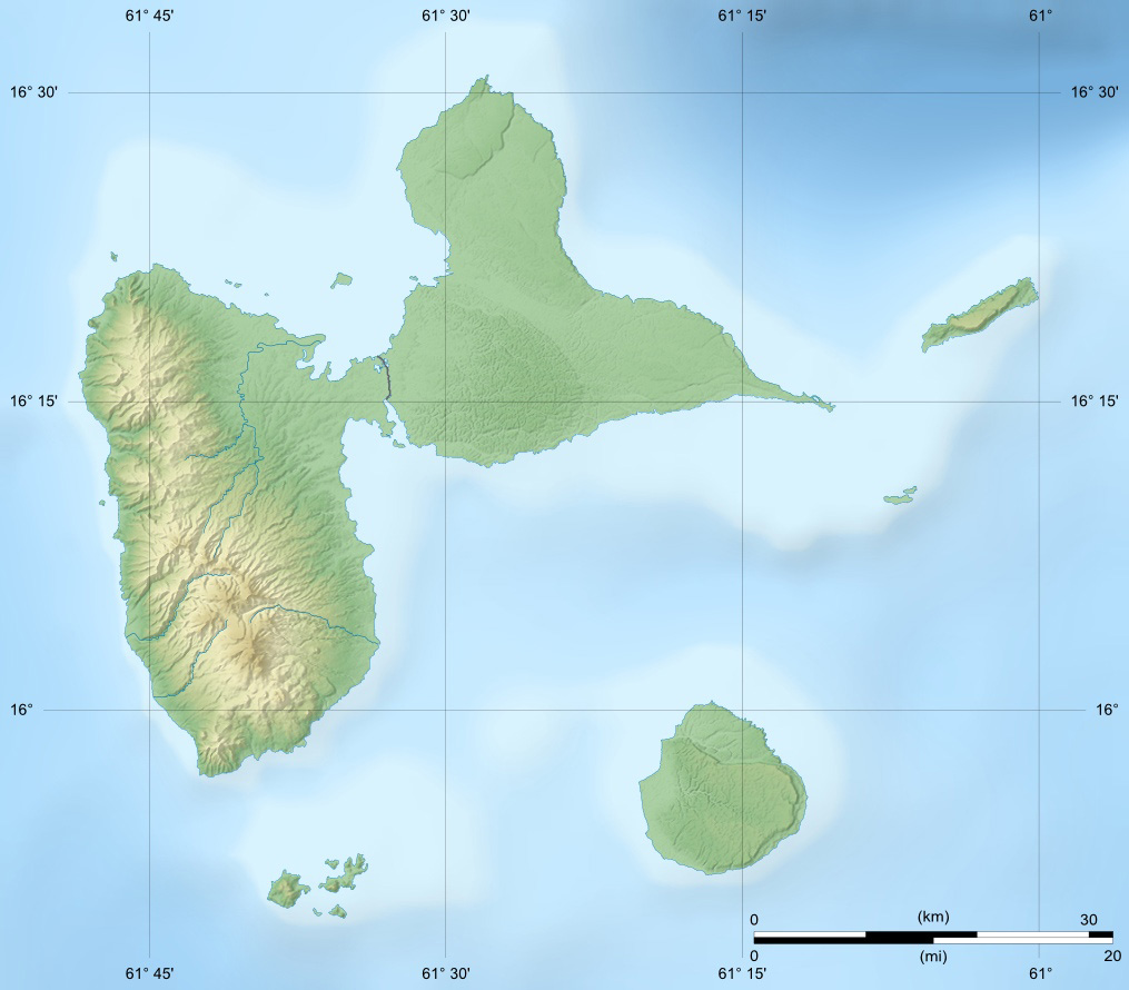 Geography of Guadeloupe - Wikipedia, the free encyclopedia