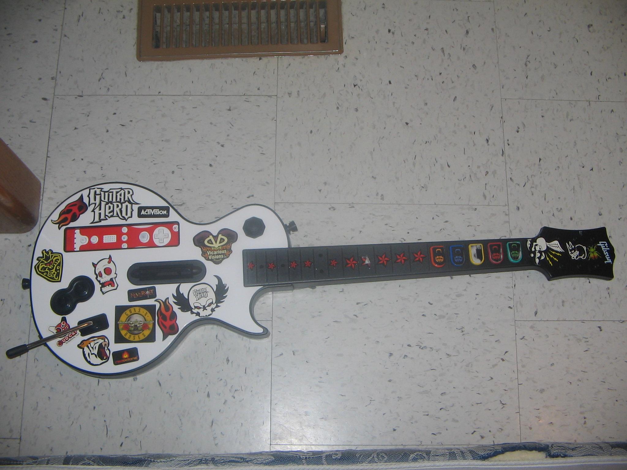 file guitar hero 3 guitar for the wii wikimedia mons
