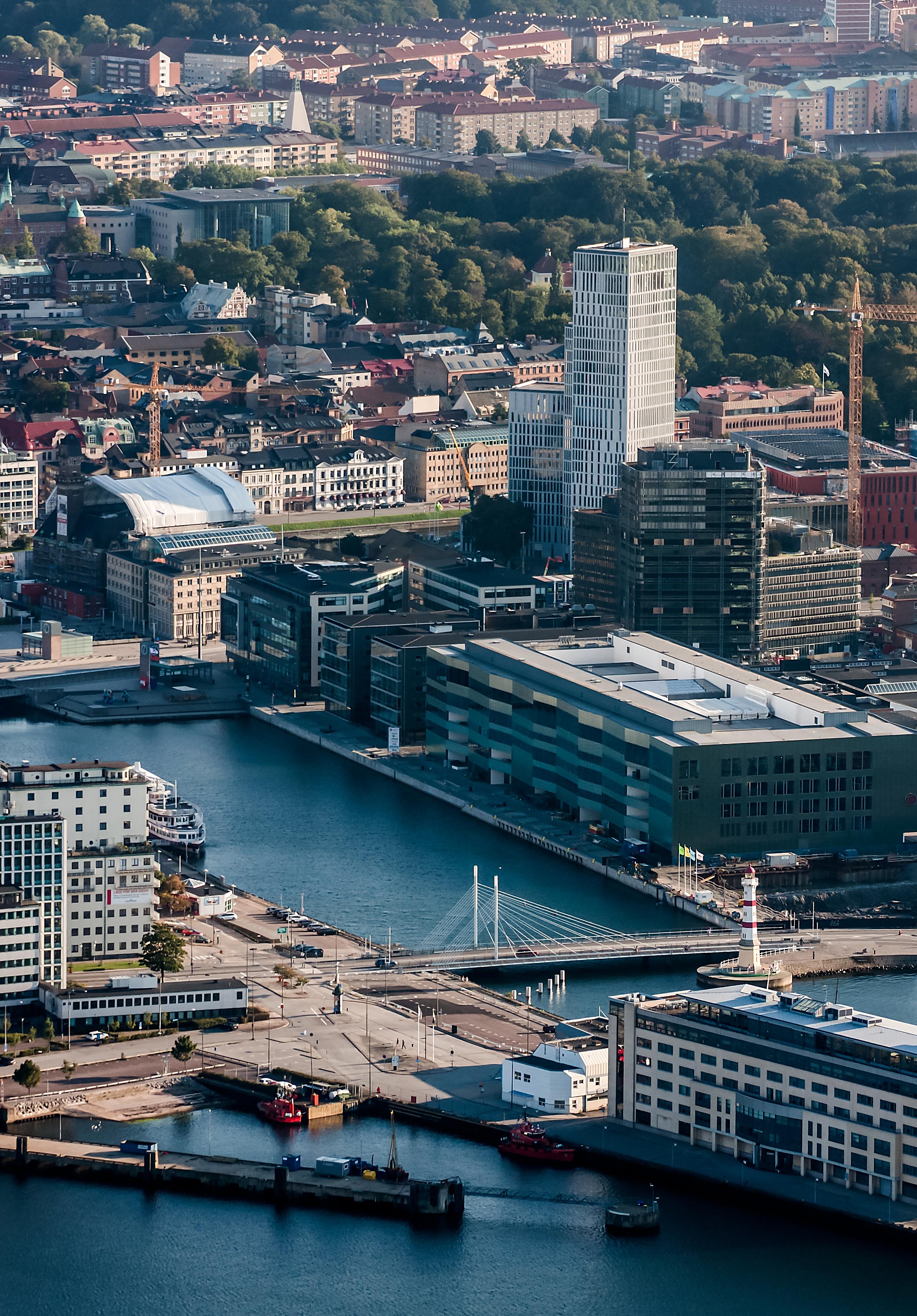 Hamnbassäng i Malmö
