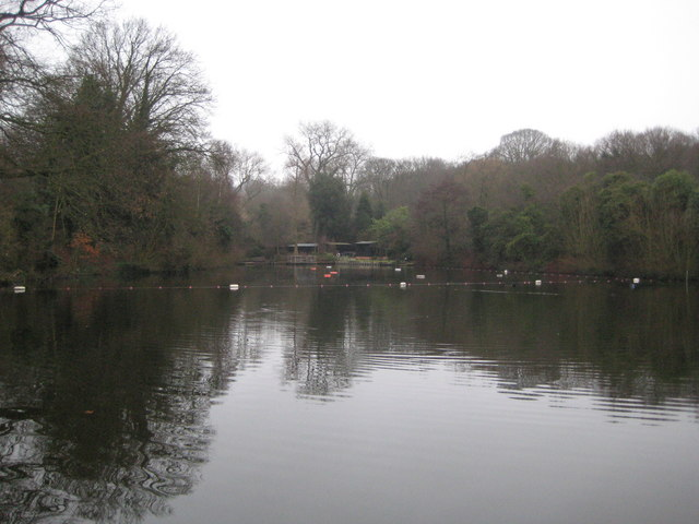 Hampstead Heath, Pond Number 3 (The Mixed Bathing Pond) - geograph.org.uk - 1718434