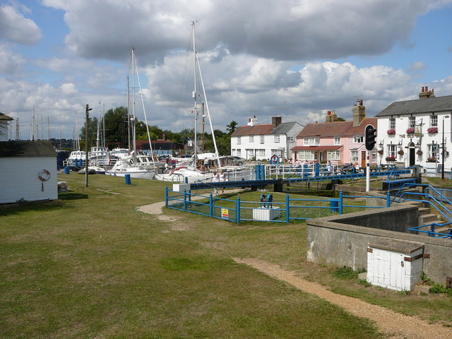 Heybridge Basin and end of Chelmer and Blackwater Navigation - geograph.org.uk - 1640068