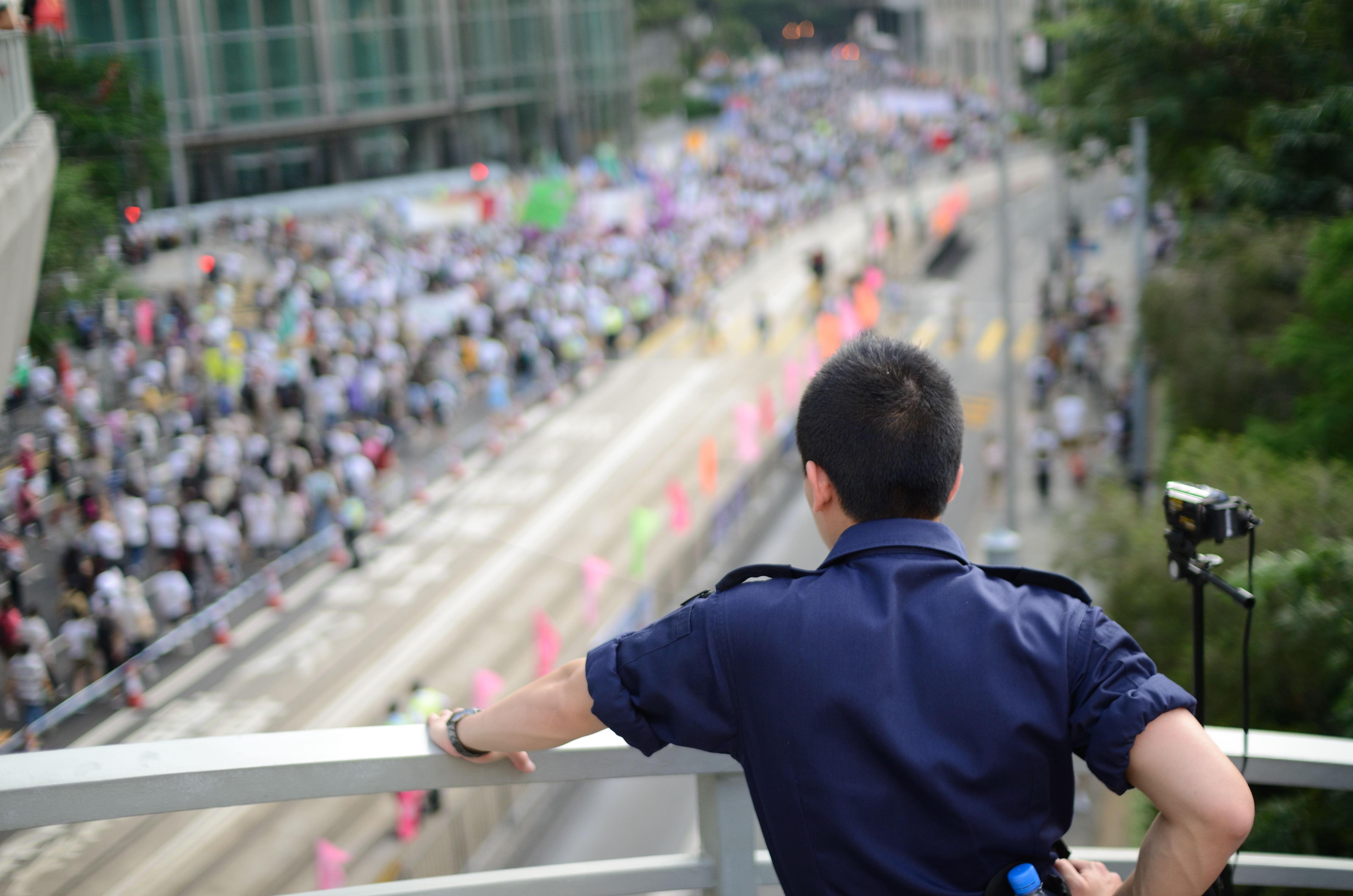 Hong Kong 1 July marches