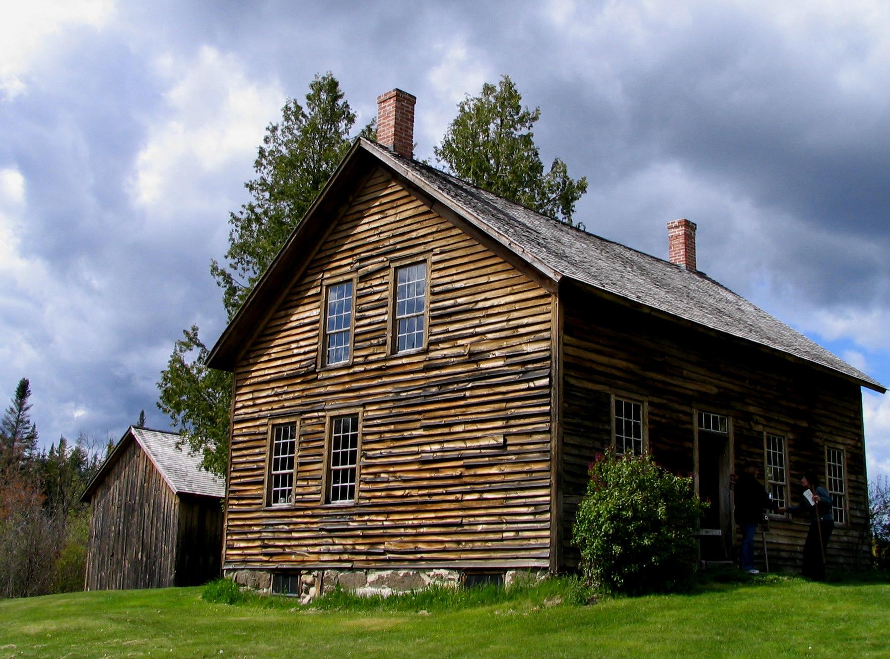 File House At John Brown S Farm Jpg Wikimedia Commons