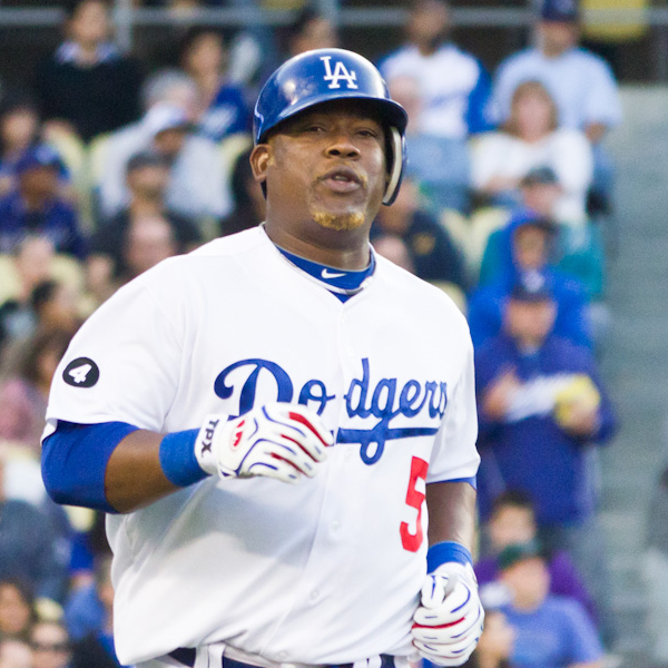 Juan Uribe von den Los Angeles Dodgers