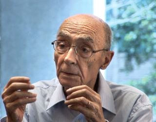 Saramago in January 2008