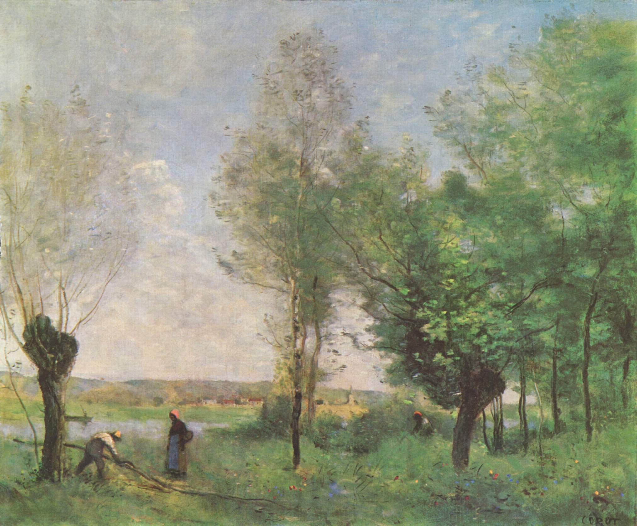 Oil Painting Corot