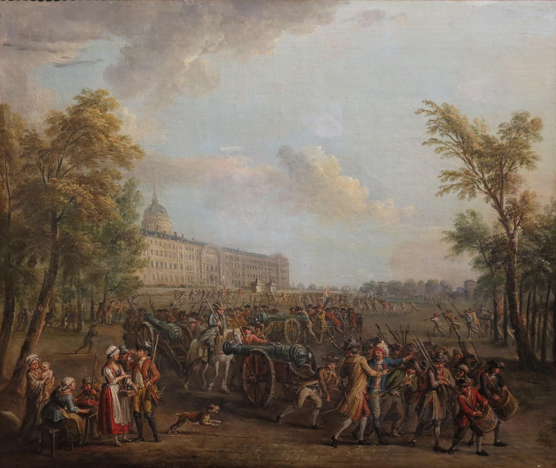 File:Jean-Baptiste Lallemand - Pillage des armes aux Invalides, le matin du