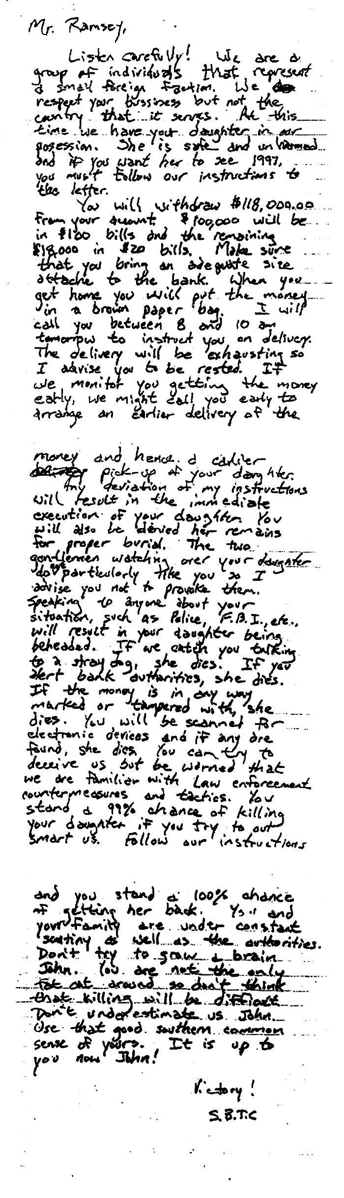 JonBenet Ramsey ransom note.jpg