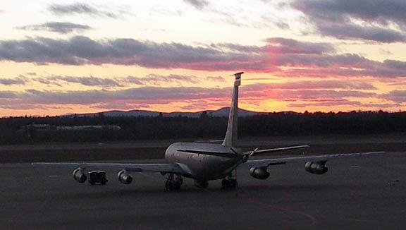 KC-135E Maine ANG at Bangor ME 2006