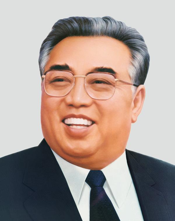 Depiction of Kim Il-sung