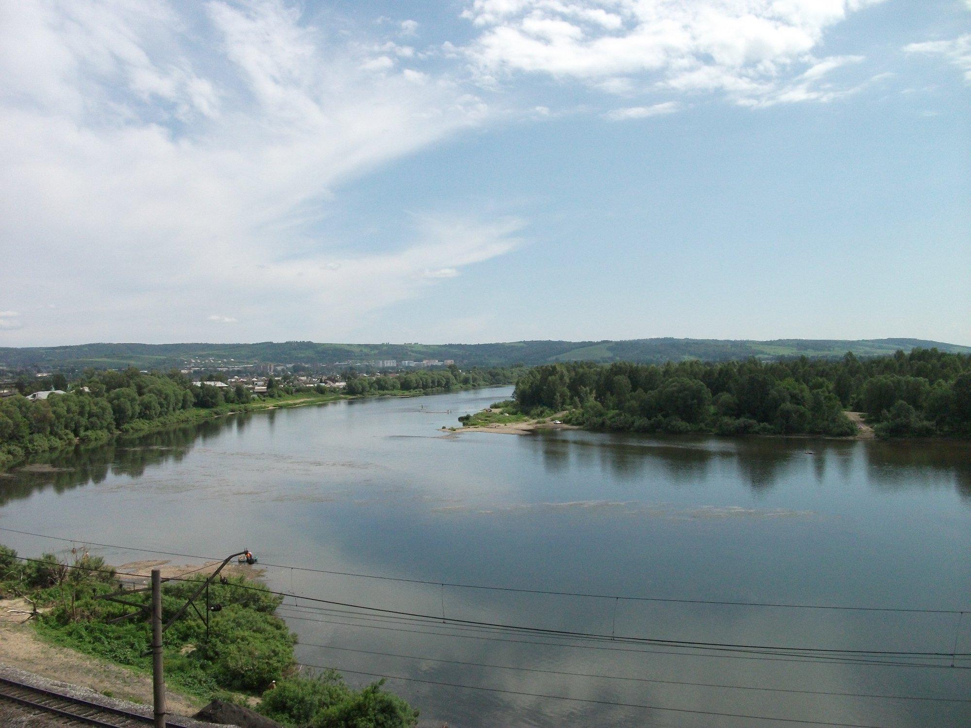 Куда впадает река томь схема фото 565