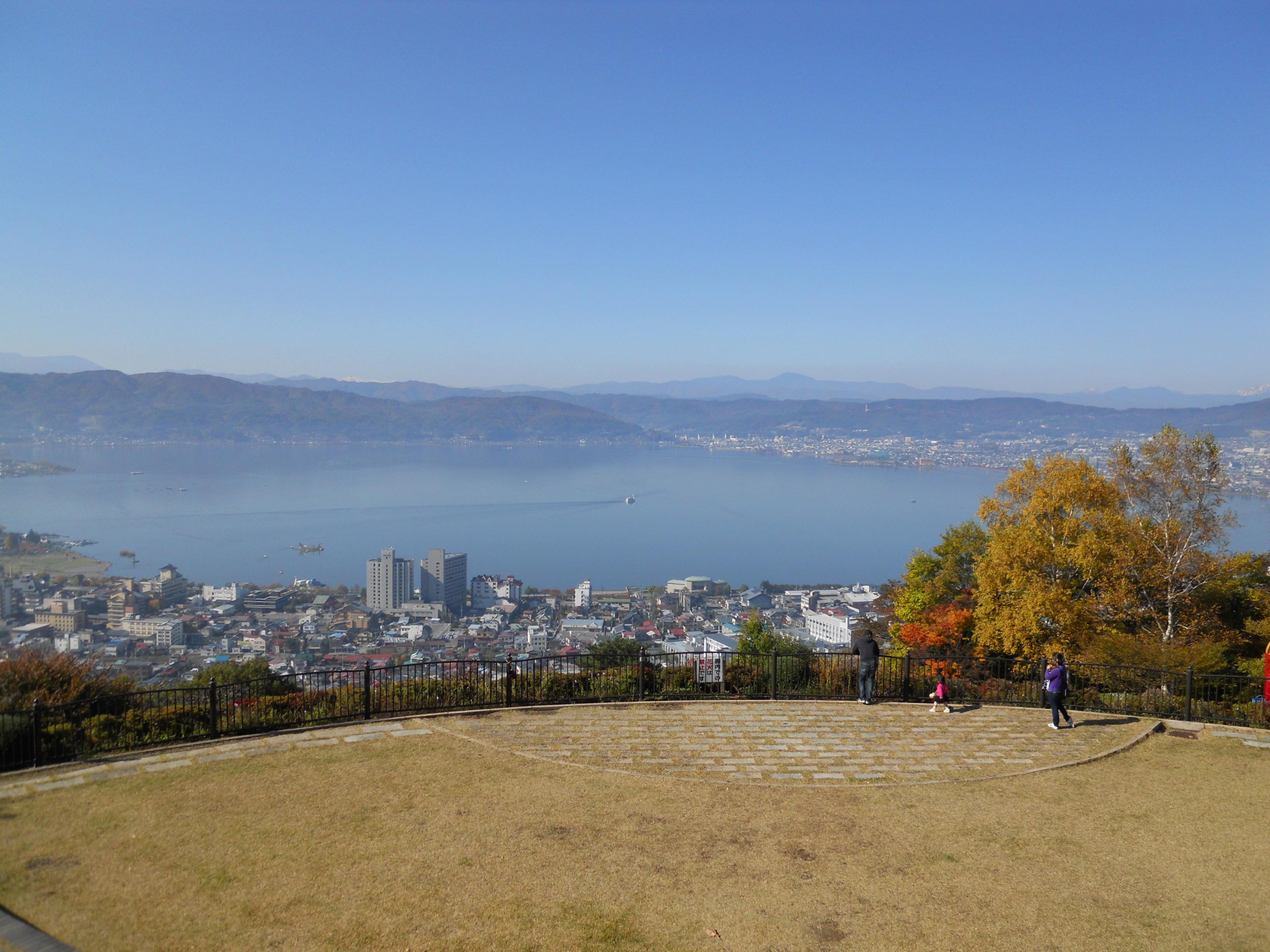 Lake Suwa at Tateishi park.JPG