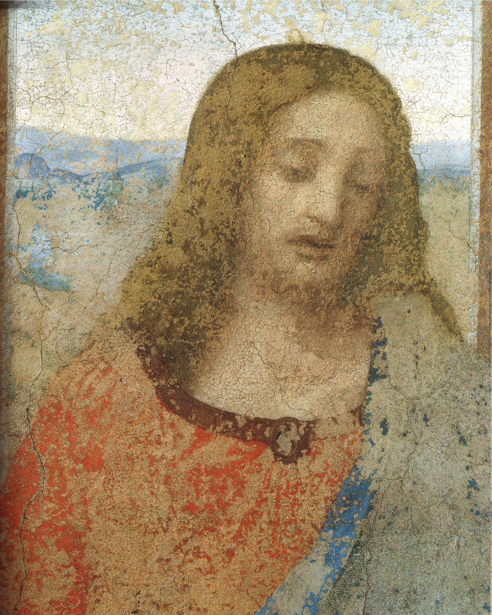 Leonardo Da Vinci Salvator Mundi Wikipedia >> File:Leonardo, ultima cena (restored) 02.jpg - Wikimedia Commons