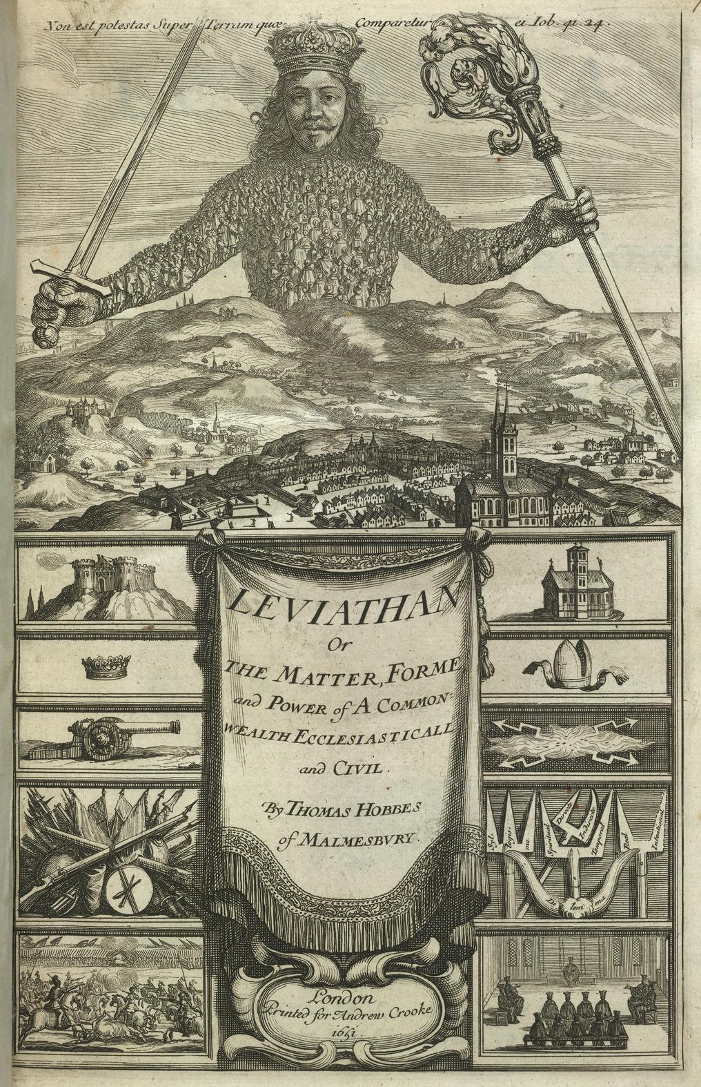 Leviathan - Hobbes%27 Leviathan (1651), title page - BL.jpg