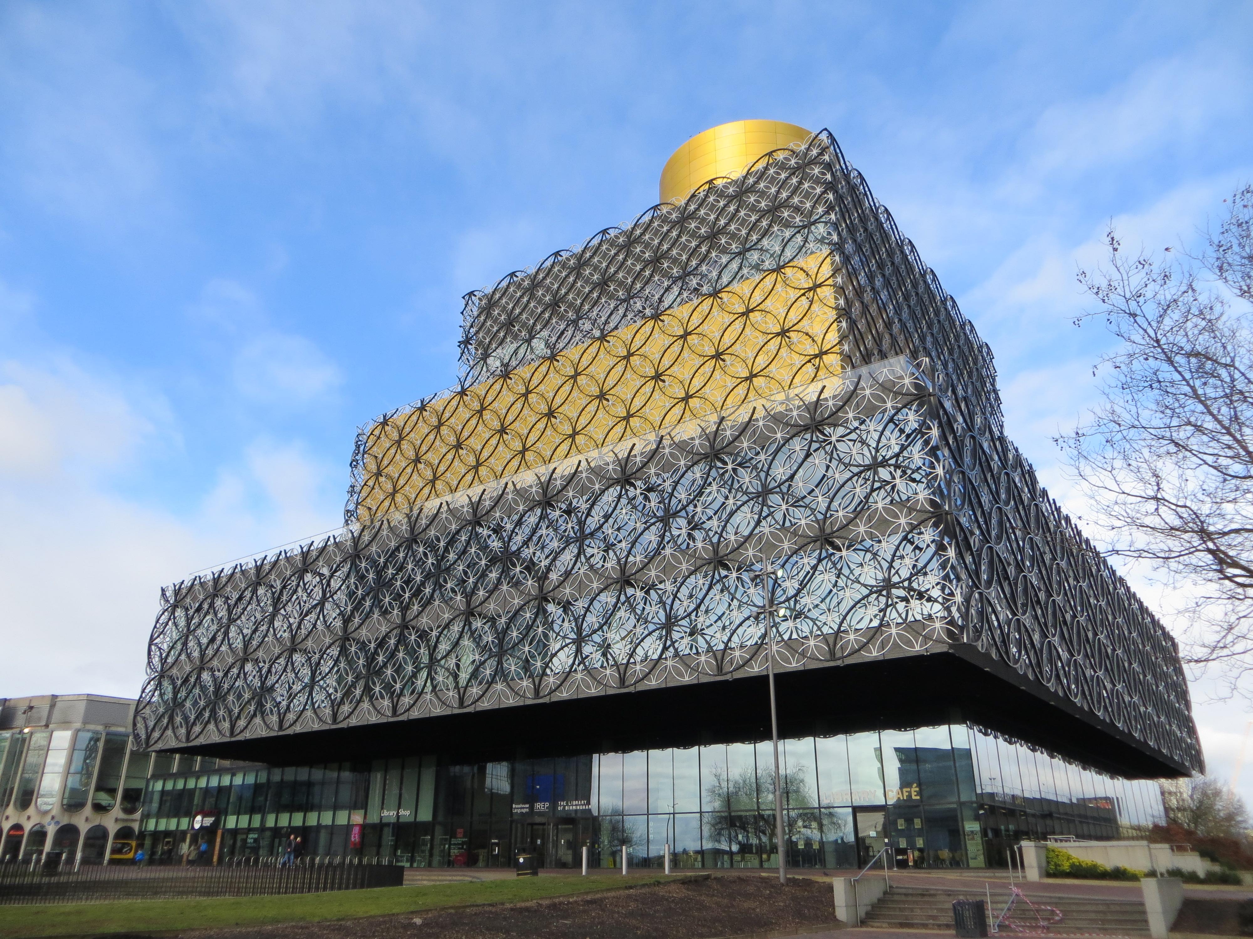 Library of Birmingham - Wikipedia