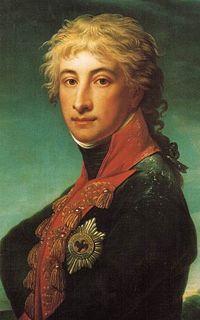 Prinz Louis Ferdinand von Preußen, Porträt von Jean-Laurent Mosnier, 1799 (Quelle: Wikimedia)