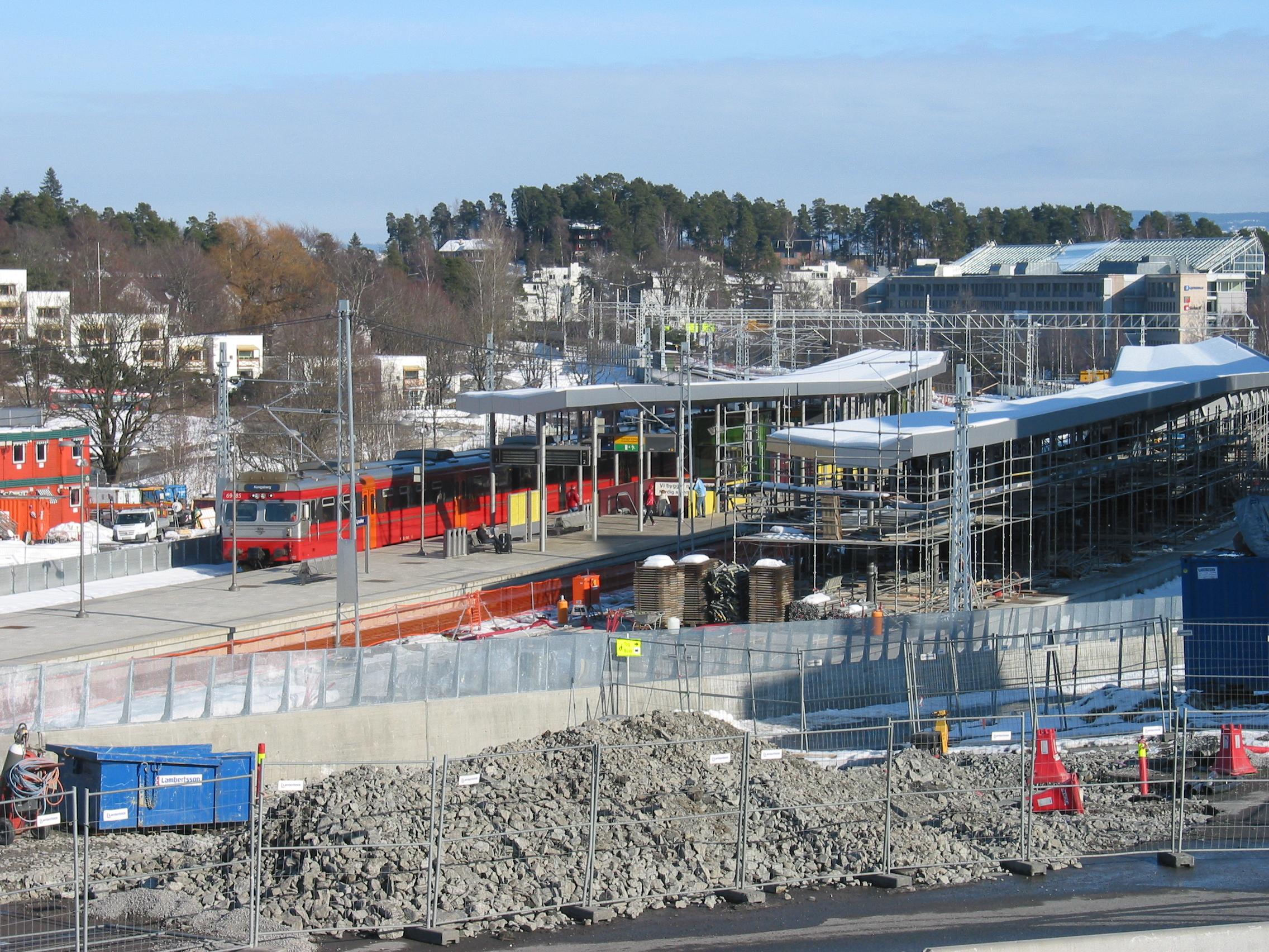 Lysaker Norway  city photo : Lysaker Station