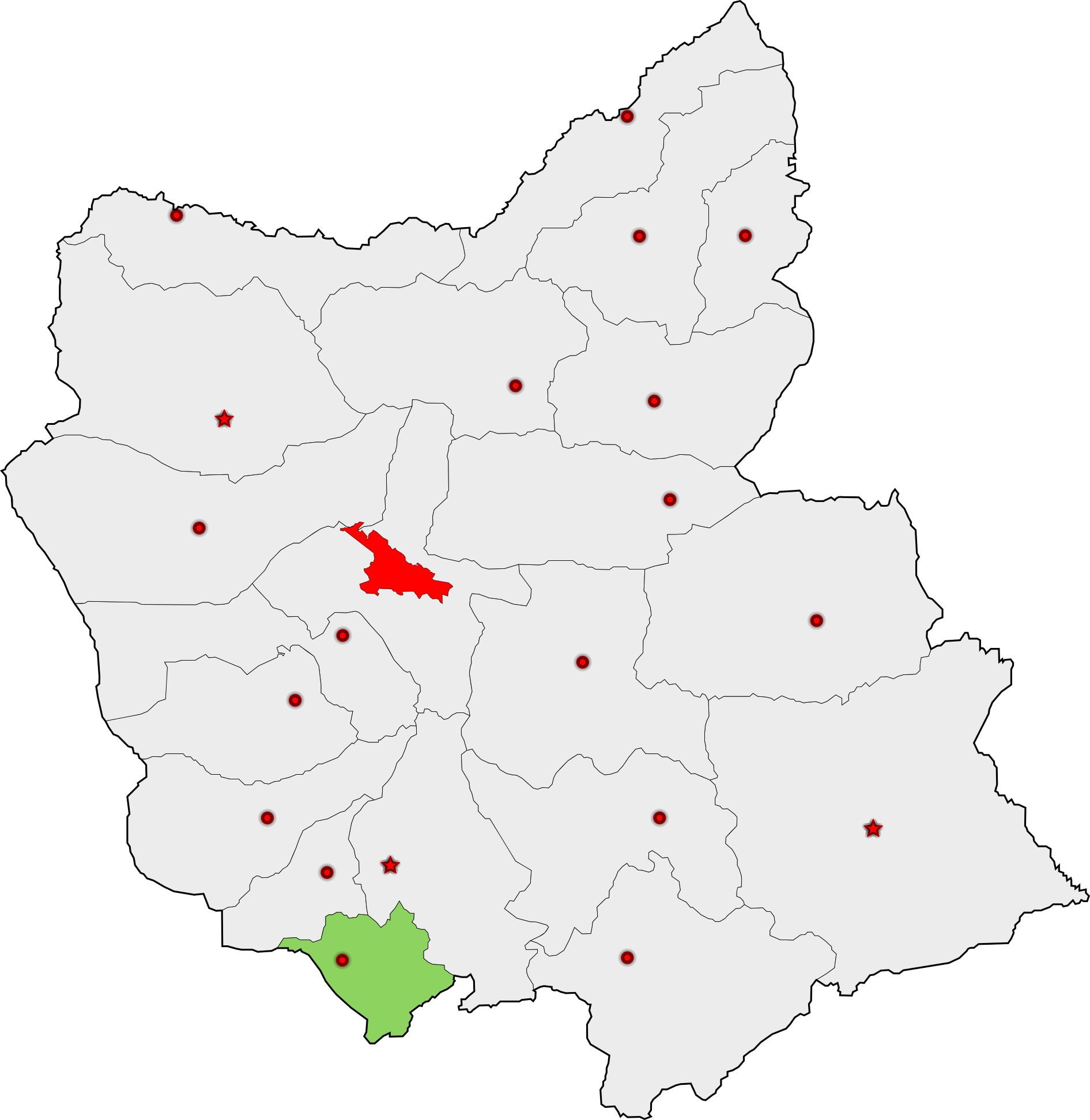 شهرستان ملکان