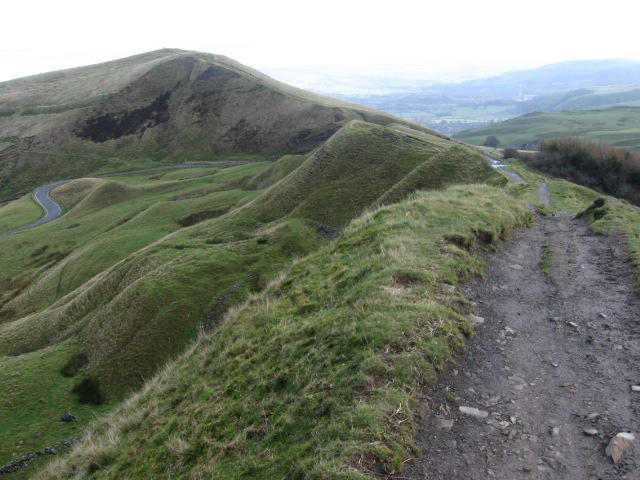 Mam Tor from Rushup Edge - geograph.org.uk - 1036721
