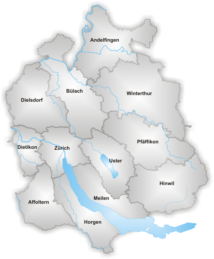 FileMap Canton Zuerich districtspng Wikimedia Commons