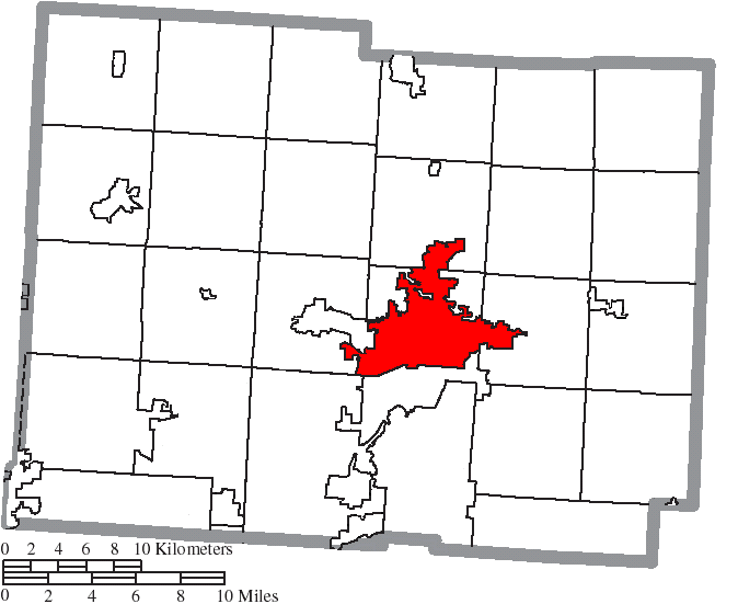 File Map Of Licking County Ohio Highlighting Newark City Png Wikipedia