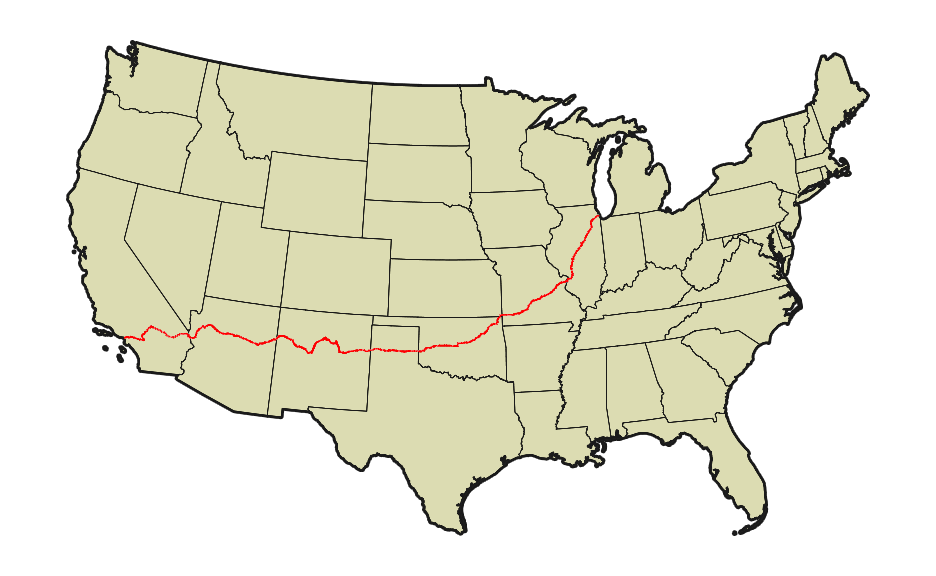 FileMap of US 66png Wikimedia Commons