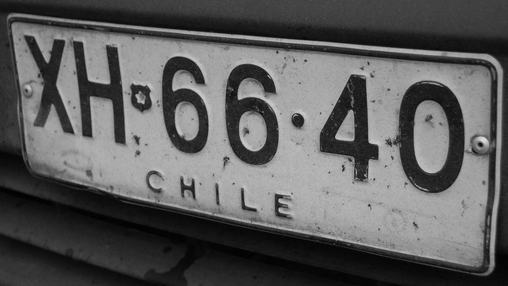 Matrículas automovilísticas de Chile - Wikiwand