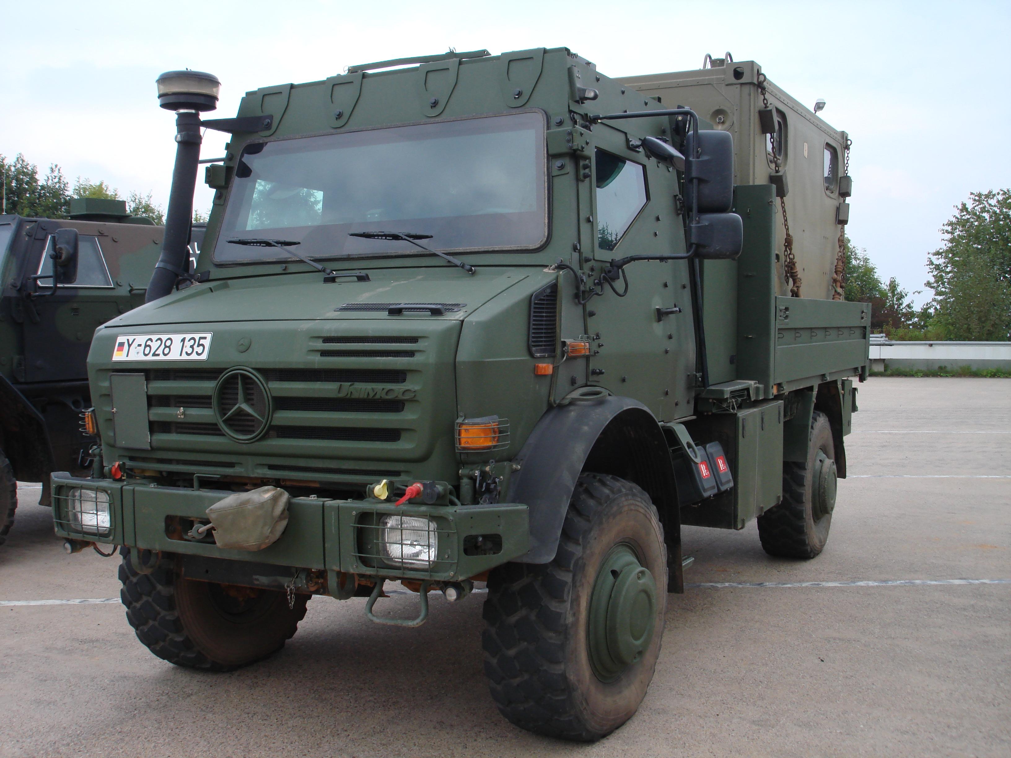 Mercedes Benz Unimog >> Unimog - Military Wiki