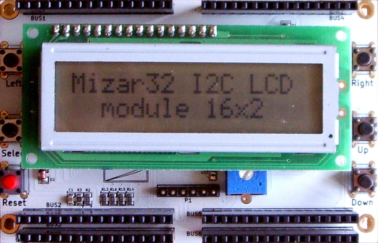 File:Mizar32 I2C LCD module 16x2 jpg - Wikimedia Commons