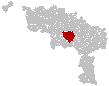 Mons Hainaut Belgium Map.png